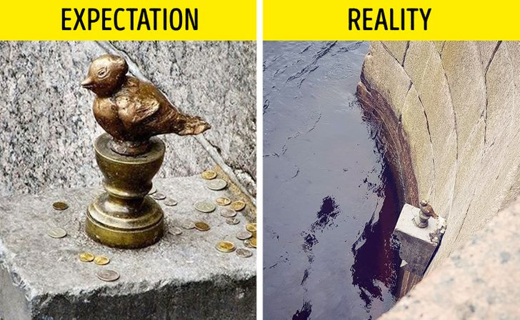 12Famous Places That Don't Look Like WeExpected